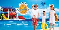 <b>Скидка до 62%.</b> День развлечений ваквапарке спосещением банного комплекса вбудние или выходные дни для детей либо взрослых вцентре семейного отдыха «Карибия»