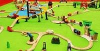 <b>Скидка до 52%.</b> Посещение детской игровой площадки «Мир паровозов»
