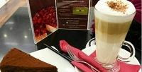 <b>Скидка до 51%.</b> Кофе или чай сдесертом навыбор вТЦ«Сувар Плаза» вкофейне «Венское»