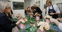 <b>Скидка до 50%.</b> Сертификат напосещение флористического мастер-класса отмастерской флористики Handy Class