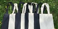 <b>Скидка до 30%.</b> Молодежная холщовая сумка-шоппер, рюкзак или поясная сумка