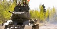 <b>Скидка до 53%.</b> Участие впрограмме «Т-34 танк Победы» сострельбой изавтомата АК-47 или без откомпании «Воентур»