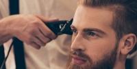 <b>Скидка до 60%.</b> Мужская или детская стрижка, моделирование бороды иусов всалоне красоты Farfalla