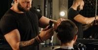 <b>Скидка до 55%.</b> Мужская или детская стрижка, коррекция бороды либо усов вбарбершопе Rocket88