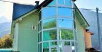 <b>Скидка до 68%.</b> Отдых вКрасной Поляне спользованием мангальной зоной вгостевом доме Green House
