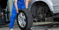 <b>Скидка до 50%.</b> Шиномонтаж с балансировкой колес радиусом отR13 доR20 отавтокомплекса «Троя»
