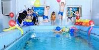 <b>Скидка до 50%.</b> Абонемент на8занятий аквааэробикой для беременных или плаванием для детей всемейном центре «Растем вместе»