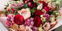 <b>Скидка до 75%.</b> Букет или композиция вшляпной коробке изорхидей, голландских, французских или эквадорских роз