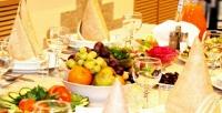 <b>Скидка до 52%.</b> Ужин cгорячим блюдом, салатом, напитком идесертом вресторане «Колос»