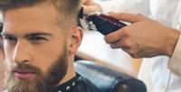 <b>Скидка до 60%.</b> Мужская идетская стрижка, моделирование бороды вбарбершопе Brutal