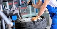 <b>Скидка до 70%.</b> Шиномонтаж ибалансировка 4колес или правка дисков размером доR20 включительно для легкового автомобиля отавтосервиса «ШинПойнт»