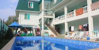 <b>Скидка до 50%.</b> Отдых наберегу Черного моря спитанием посистеме «полный пансион» или без, посещением открытого бассейна вотеле «Максим»
