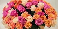 <b>Скидка до 75%.</b> Букет изголландских, кенийских илироссийских роз либо шляпная коробка изроз навыбор