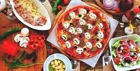 Всё меню инапитки отсетевой службы доставки Pizza Piccolo соскидкой30%