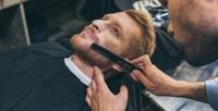 <b>Скидка до 41%.</b> Мужская стрижка, моделирование бороды вбарбершопе Sparta