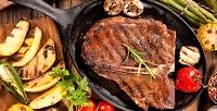 <b>Скидка до 62%.</b> Ужин сгорячим блюдом, салатом, десертом инапитками вресто-пабе «Хмельной бакинец»