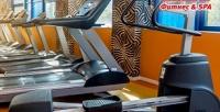 1месяц безлимитного посещения круглосуточного фитнес-клуба сбассейном «Зебра» врайоне Печатники (2950руб. вместо 5900руб.)