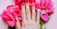 <b>Скидка до 59%.</b> Маникюр ипедикюр спокрытием гель-лаком идизайном двух ногтей или наращивание ногтей всалоне красоты «5шагов ккрасоте»
