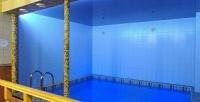 <b>Скидка до 50%.</b> 3, 4или 5часов посещения большой бани сбассейном для компании до8человек вотеле «Мармелад»