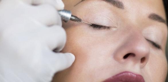 Перманентный макияж бровей, век или губ встудии красоты Silk Skin