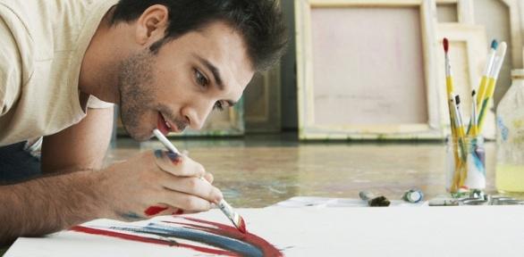 Мастер-класс порисованию отарт-студии «Мансарда»