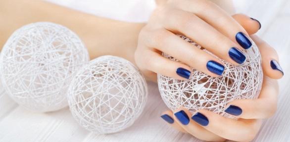 Маникюр спокрытием гель-лаком, наращивание ногтей всалоне Beauty