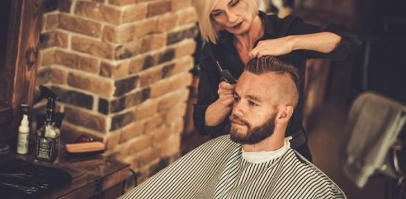 Мужская или детская стрижка, коррекция бороды вBarbershop