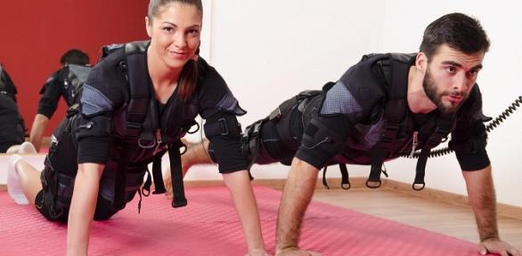 EMS-тренировки для одного или двоих вфитнес-клубе Noble