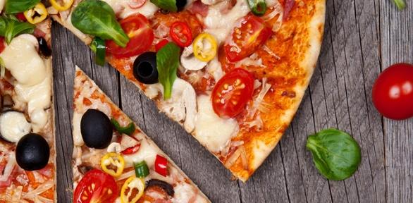 Пицца отслужбы доставки «Колибри пицца» заполцены