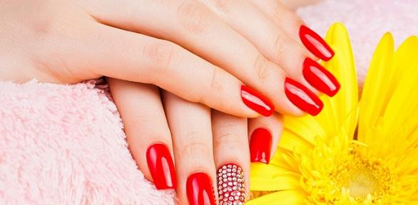 Маникюр ипедикюр спокрытием встудии красоты Nails Gold Room