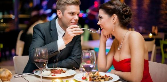 Романтический ужин для двоих впанорамном кафе «Небо золотое»