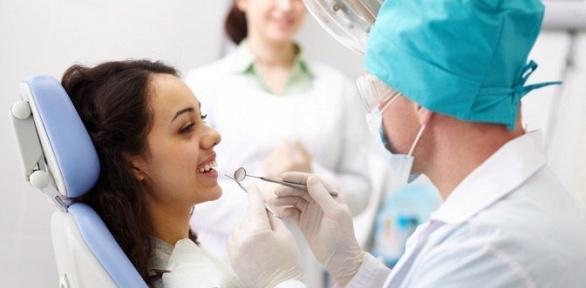УЗ-чистка иполировка зубов встоматологии «Смайл-Дент»