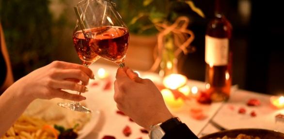 Романтический ужин вресторане «Седьмое небо»