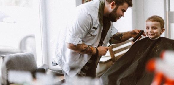 Мужская, детская стрижка, моделирование бороды вбарбершопе Good Times