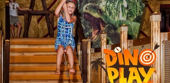 Посещение вбудний или выходной день игрового клуба Dino Play