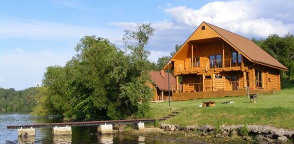 Отдых наберегу озера Белое вкоттедже навыбор набазе отдыха «Озерная»
