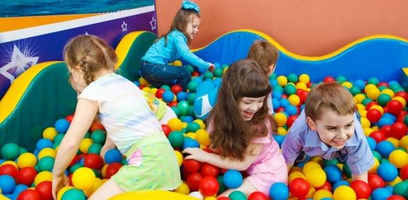 Билет «Нон-стоп» напосещение детской игровой площадки Happy Land