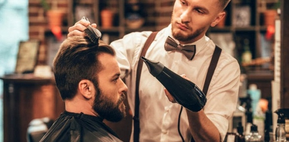 Мужская стрижка имоделирование бороды встудии стрижек DaBro