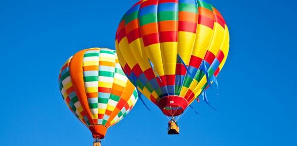 Полет навоздушном шаре для одного человека отклуба «Воздухоплаватели»