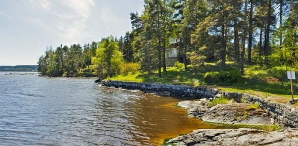 Отдых вКарелии наЛадожском озере набазе отдыха «Хутор Салокюля»