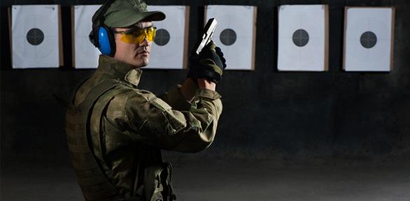 Курс занятий пострельбе избоевого оружия встрелковом клубе «Динамо»