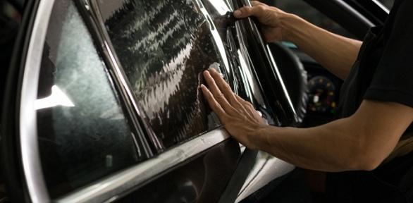 Тонирование стекол или задних фар отцентра Siltone
