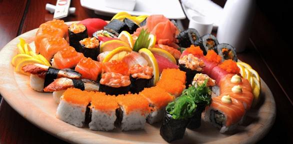 Суши-сет навыбор отресторана доставки Naruto Restaurant