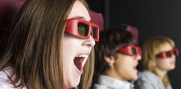 Посещение сеанса в7D-кинотеатре впарке «Волжский»