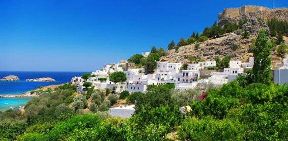 Тур вГрецию наостров Родос сиюля пооктябрь