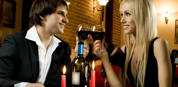 Романтический ужин вресторации «Наше всё»