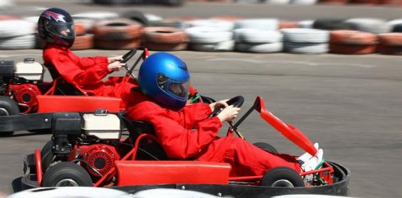 1, 2или 4заезда накарте откомпании Extreme.Kart