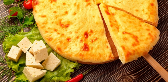 Сет изосетинских пирогов или пицц отпекарни «Дом пирогов»