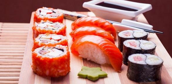 Всё меню отслужбы доставки суши-бара «Темпура»