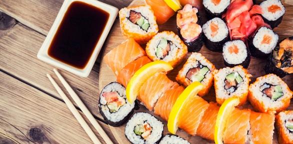 Все сеты отслужбы доставки Sushi House заполцены